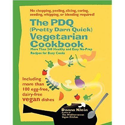 The PDQ (Pretty Darn Quick) Vegetarian Cookbook: 240 Healthy and Easy No-Prep Recipes for Busy Cooks *** Details can be found by clicking on the image.
