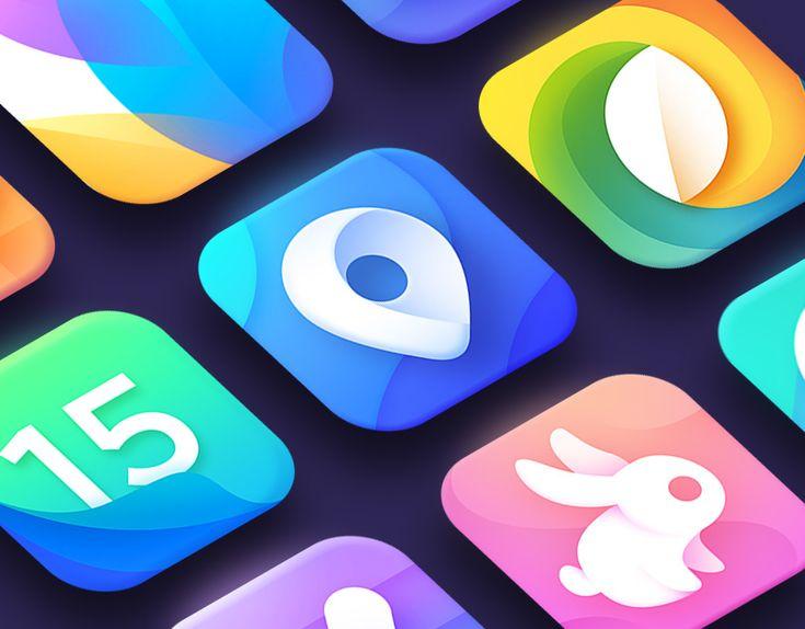 """다음 @Behance 프로젝트 확인: """"Best Apps & Logos 2017"""" https://www.behance.net/gallery/59148599/Best-Apps-Logos-2017"""