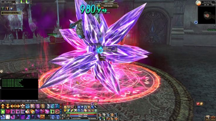 Dekaron - Karon's Fire Pot ( Mitera Dungeon ) Multiple Runs, 185 Segnale