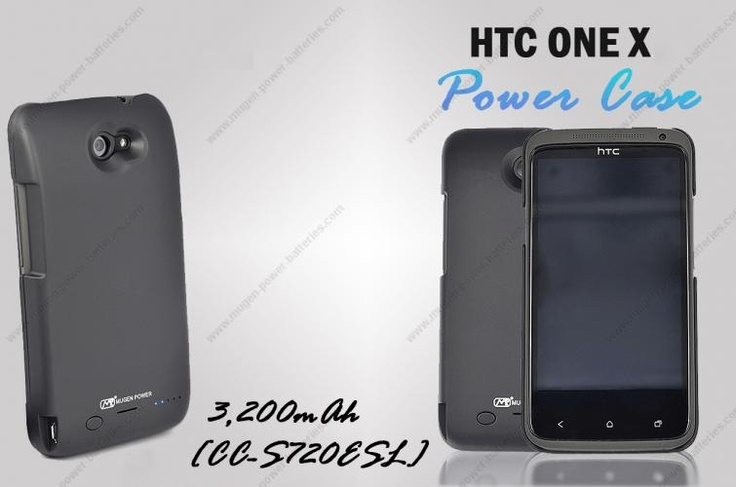 [CC-S720ESL] Mugen Power 3200mAh Battery Case for HTC One X  $95.95  #htc #android #htconex