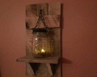 Wood Sconces Rustic Home Decor Rustic by TeesTransformations