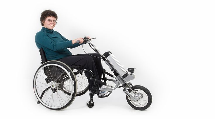 Motorized Attachment Wheelchair Manual Handcycle Assist
