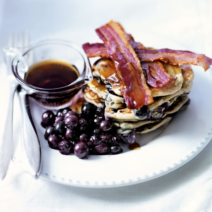 American Blueberry Pancakes - Woman And Home