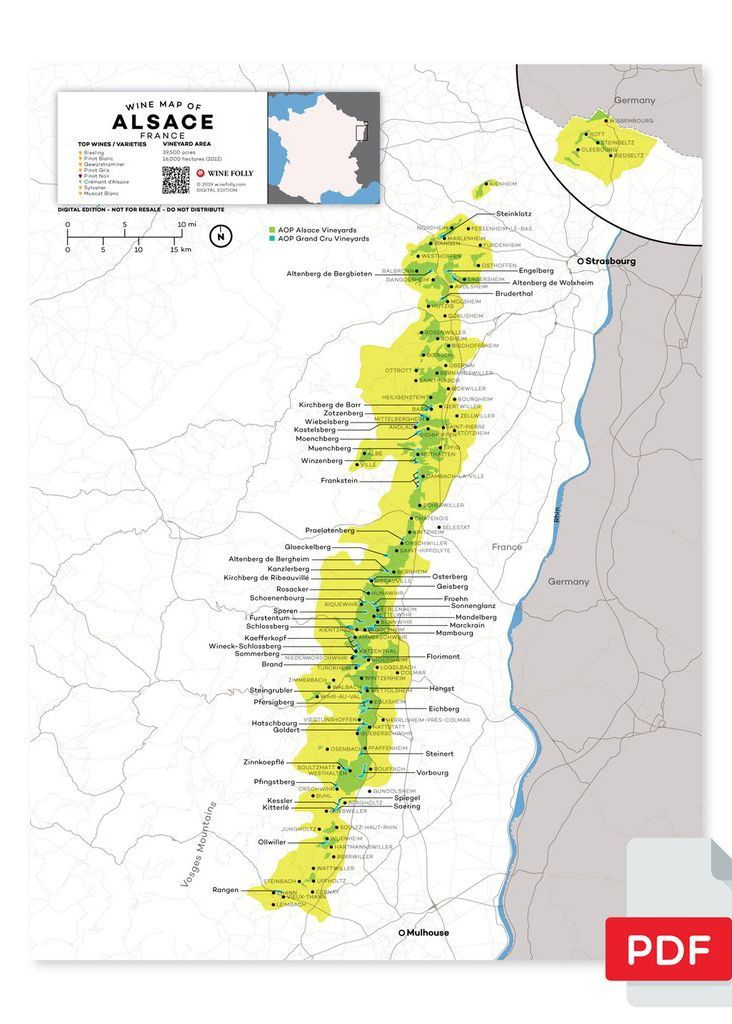 Map Of France Pdf.France Alsace Wine Map In 2019 From Our Official Store Wine