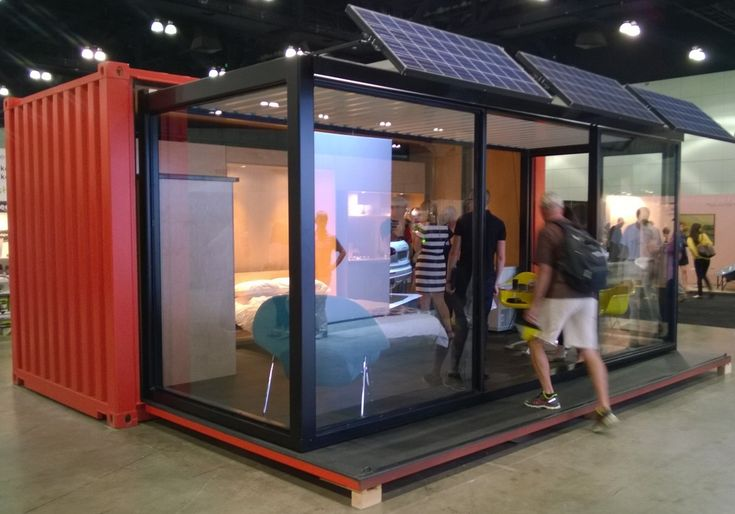 Pop Up Container Cabin for Off the Grid Living - CubeDepot