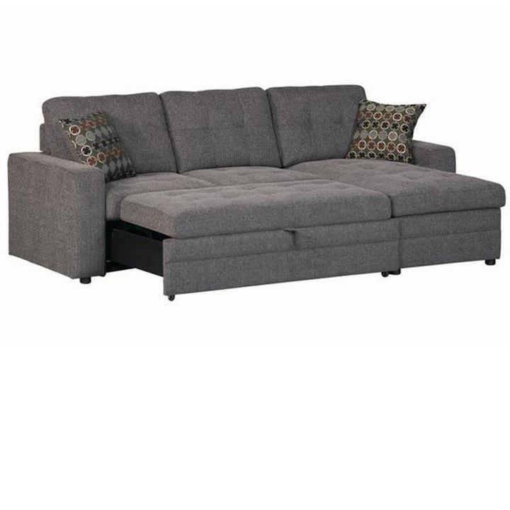 Gus 2 Piece Sleeper Sectional Sectional Sleeper Sofa Small Sectional Sofa Sectional Sofa