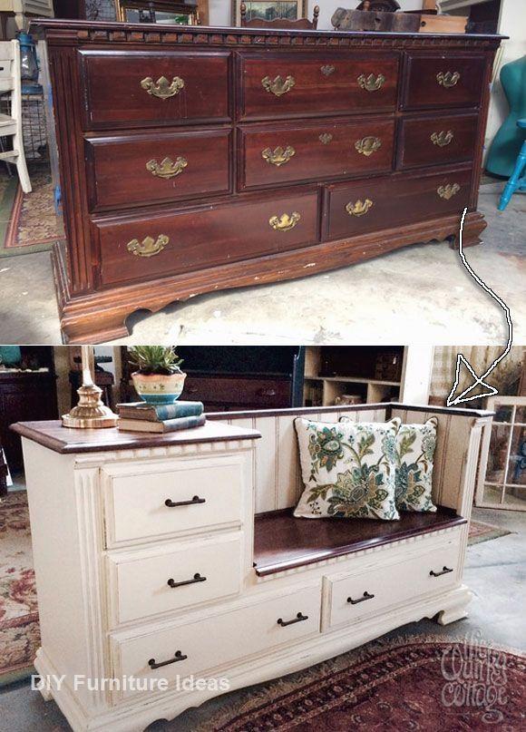 Creative Diy Furniture Repurpose Ideas, Refurbished Furniture Ideas