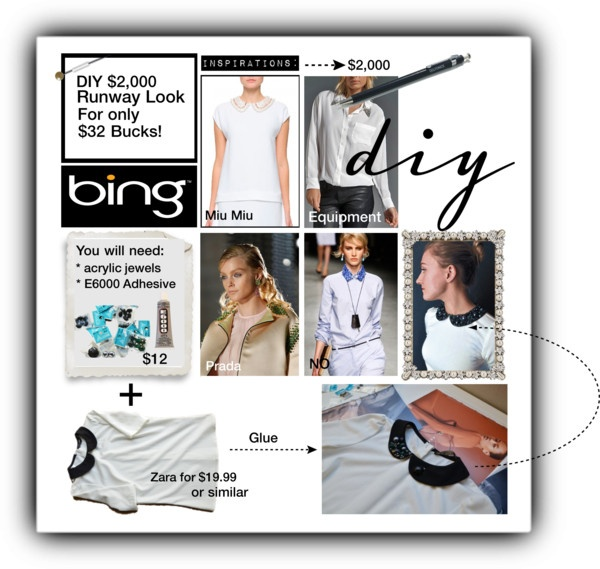 """""""Looks to DIY for with the Bing Summer of Doing"""" by leilagoncalves on Polyvore"""