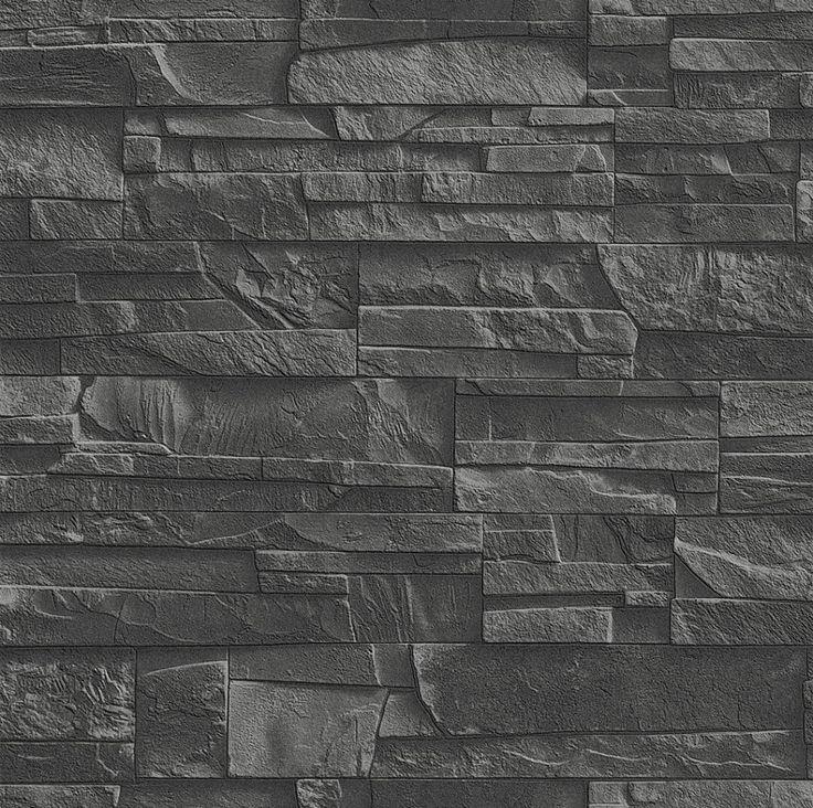 rasch steintapete vliestapete bruchstein klinker stein mauer riemchen 4 versdesigns tapeten rasch factory 2014 - Ideen Steintapete