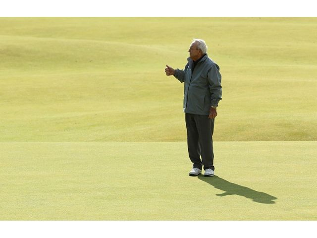 #ArnoldPalmer #THEOPEN #THEMAN 2015 British Open: Practice Round Photo Gallery at St. Andrews | Golf Channel