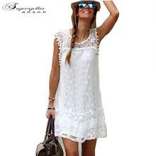 Vestidos 2016 Summer Elegant Women Casual Solid Short Sleeve ...