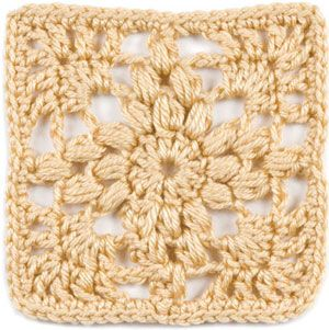 """October, part of Crochet's FREE Afghan Block of the Month. Get the download here: http://www.crochetmagazine.com/crochet_block.php?id=8  """"Like"""" the Crochet Facebook page so you don't miss a single monthly installment: https://www.facebook.com/CrochetMagazine"""
