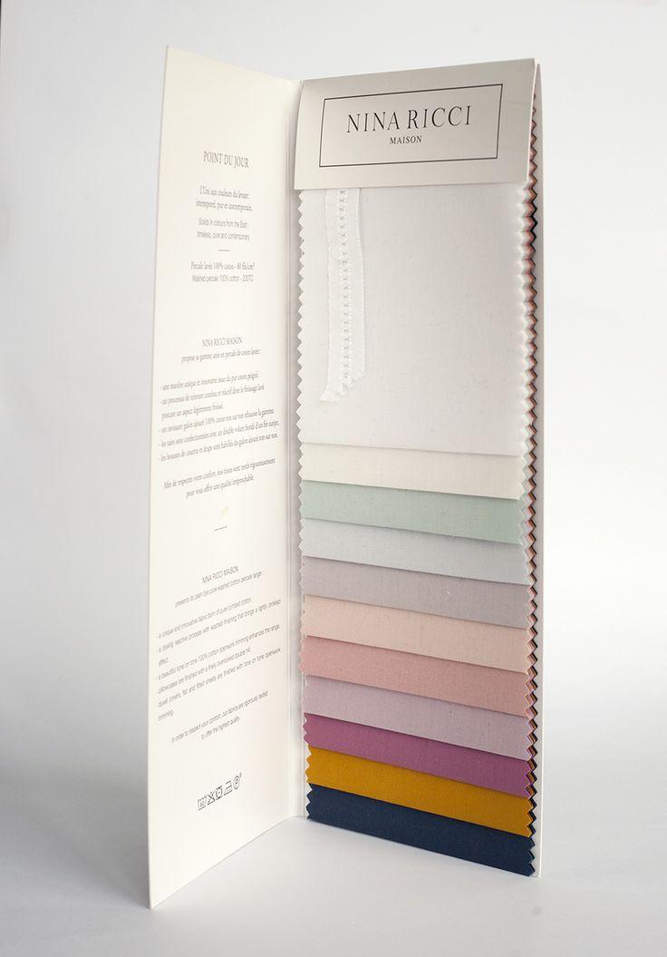 De kleurenwaaier van Nina Ricci Stonewashed Percal. Hoeslakens, dekbedovertrekken, lakens en kussenslopen. #kleur #beddengoed #slaapkamer