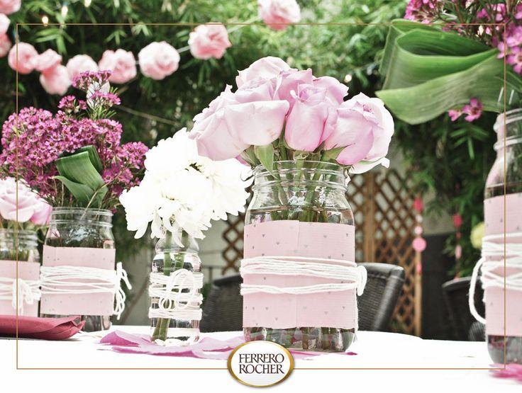 tolles die magie der bulgarischen rose abzukühlen bild und cbfdbaccbaa mason jar centerpieces centerpiece ideas