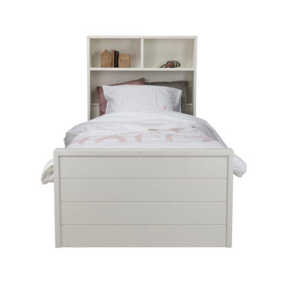 Woood Max Bed met Lade 90 x 200 cm - Wit