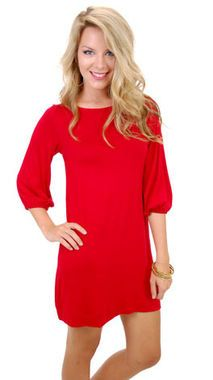 Does it get any more comfy than a long tunic dress? http://thestir.cafemom.com/beauty_style/167812/5_pretty_red_valentines_day/113111/red_tunic_dress_36?slideid=113111?utm_medium=sm&utm_source=pinterest&utm_content=thestir