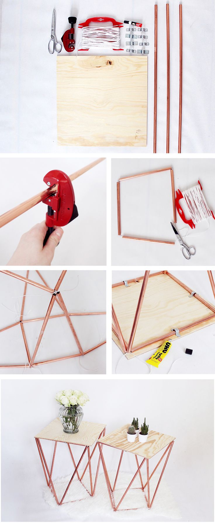 Beistelltisch Selber Bauen- Komplette DIY Anleitung