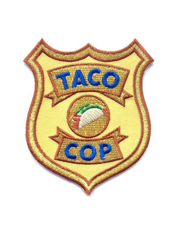 Taco Cop Patch