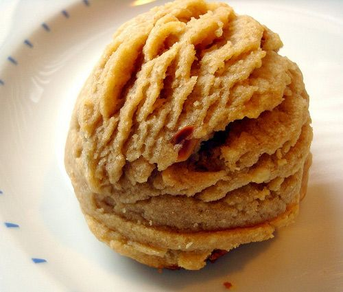 These are literally the best peanut butter cookies I have ever had in my life.
