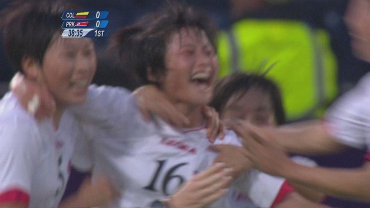 Colombia 0-2 DPR Korea - Women's Football Group G | London 2012 Olympics