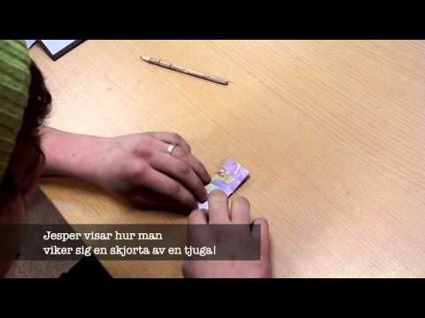 ▶ Webben 7 - Lär dig vika en tjuga! - YouTube
