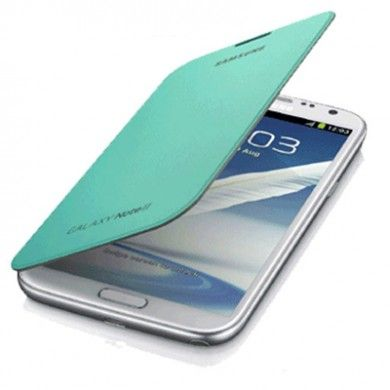 Estuche Samsung Galaxy Note 2 Original Flip Cover - Verde