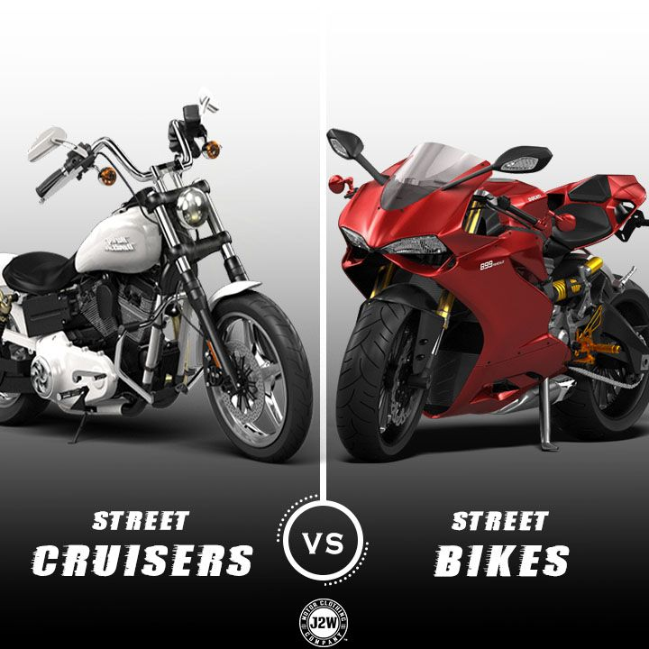 Street Cruisers Vs Street Bikes What Are The Differences And Why
