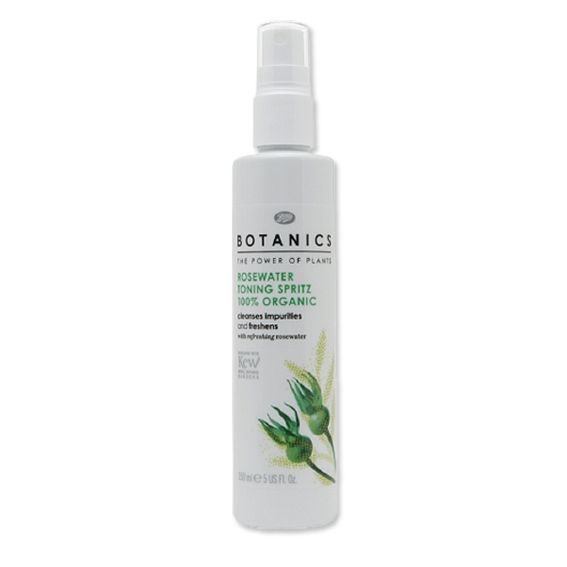Expert's+Top+10:+A+Flawless+Complexion+with+Celebrity+Makeup+Artist+Kara+Yoshimoto+Bua+-+Boots+Botanics+Rosewater+Toning+Spritz +-+from+InStyle.com