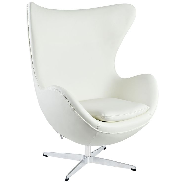 Modway Glove Leather Lounge Chair