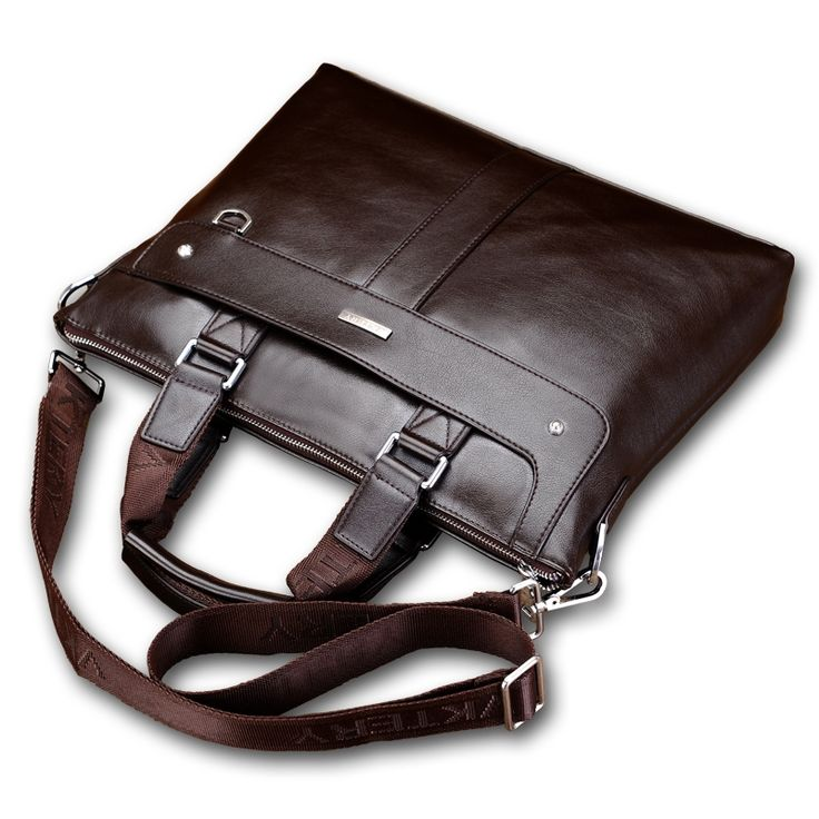 27.19$  Watch here - http://aliqhs.shopchina.info/go.php?t=32750905628 - VKTERY 2016 Men Casual Briefcase Business Shoulder Bag Leather Messenger Bags Computer Laptop Handbag Bag Men's Travel Bags  #buychinaproducts