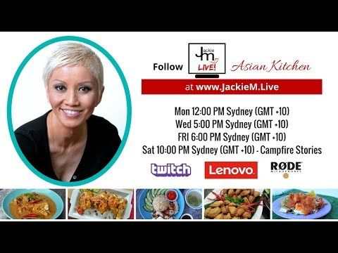 """For more recipes and tips click here - http://jackiem.com.au  Multistreaming with https://restream.io/  ------ Please watch: """"How to Cook Grilled Beef Rolls - Asian BBQ Series""""  https://www.youtube.com/watch?v=oRkMTezoj00 ------"""