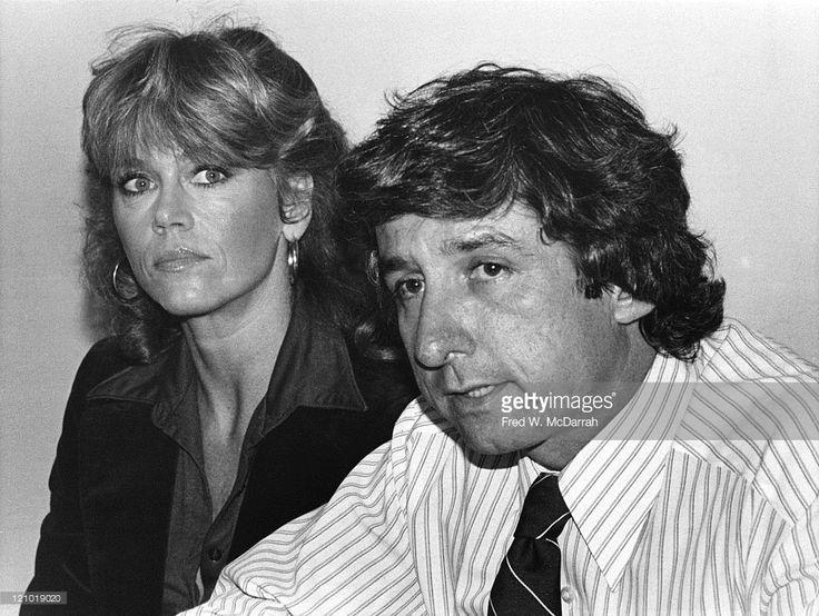 Married Americans actress Jane Fonda and political activist Tom Hayden ...