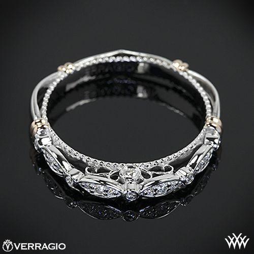 Verragio Scalloped Diamond Wedding Ring from the Verragio Parisian Collection.