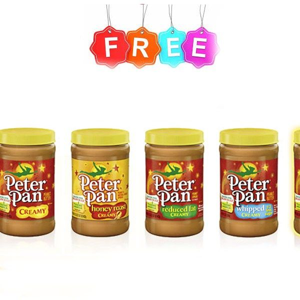 Free at Giant 6 Peter Pan Peanut Butter Jars Freebie - http://couponsdowork.com/giant-weekly-ad/giant-freebie-peter-pan-pbj/
