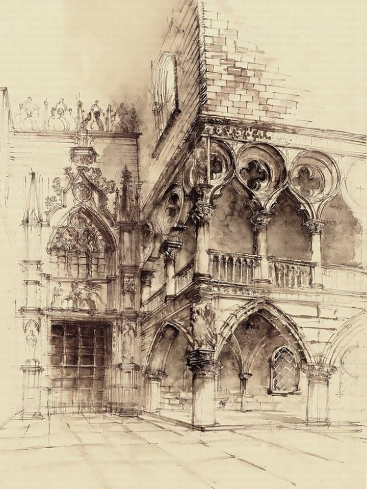 @architecturedaily Sketch by: Elwira pawlikowska
