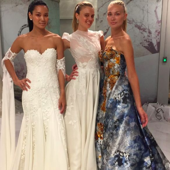 We had an incredible time being a part of the Mark Zunino Couture, Bridal Reflections, Sophisticated Weddings: New York Editionfashion event!