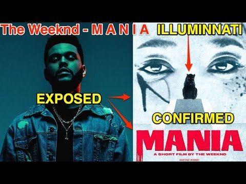 The Weeknd - M A N I A EXPOSED AS ILLUMINATI RITUAL!
