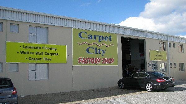 South African Factory Shops - Carpet City Factory Shop - Parow, Industria, Cape Town, Western Cape, South Africa