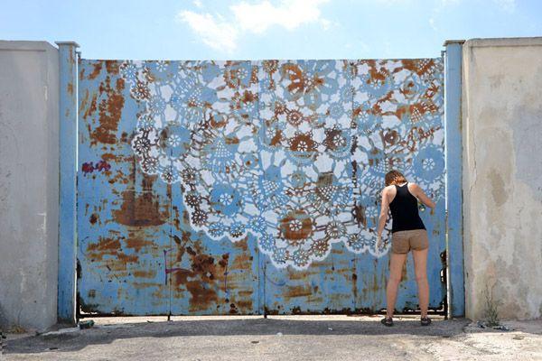 lace graffiti