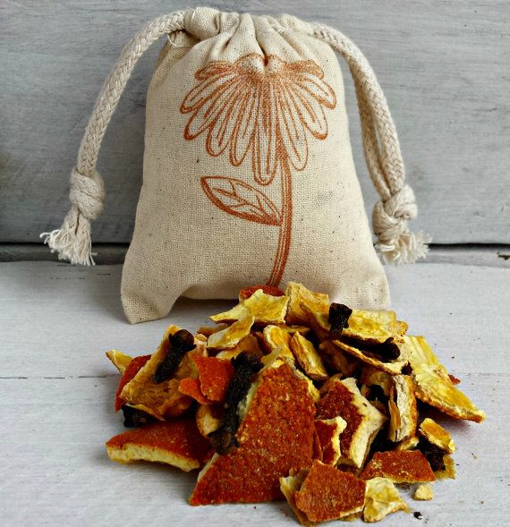Orange Clove Sachets Aromatherapy Scented Sachets Sachet Bags Sachet Favors Wedding Favors Scented Drawer Sachets Drawer Sachets
