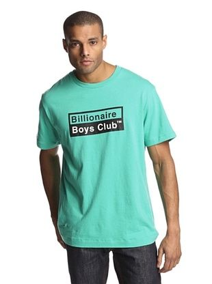 62% OFF Billionaire Boys Club Men's Short Sleeve Chemical Logo T-Shirt (Marine Green)