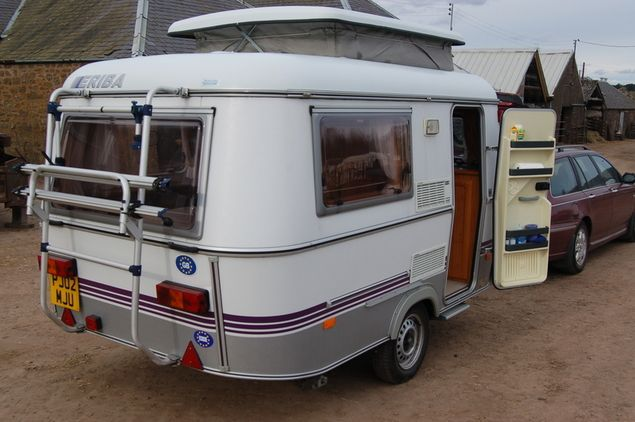 Eriba Pan Duo T, 2 berth Berth, (1997) Used - Good condition Touring Caravans for sale
