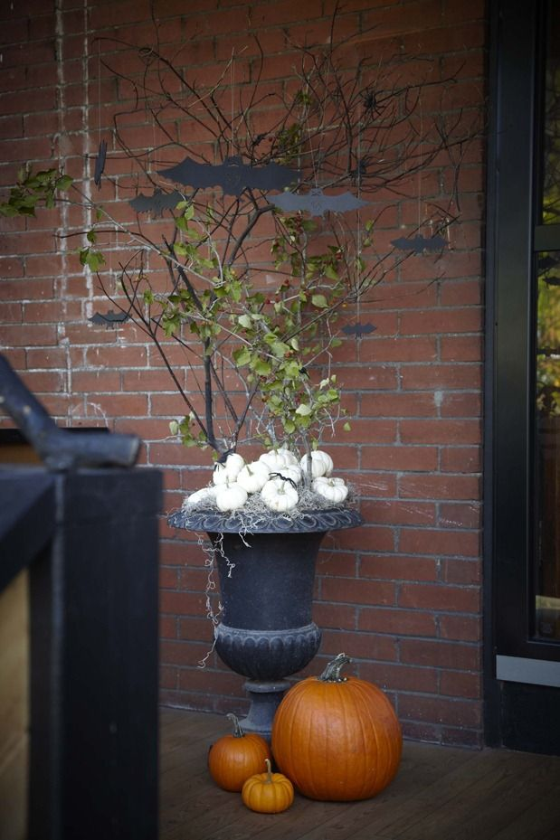 1000 Images About Halloween Planters On Pinterest Fall
