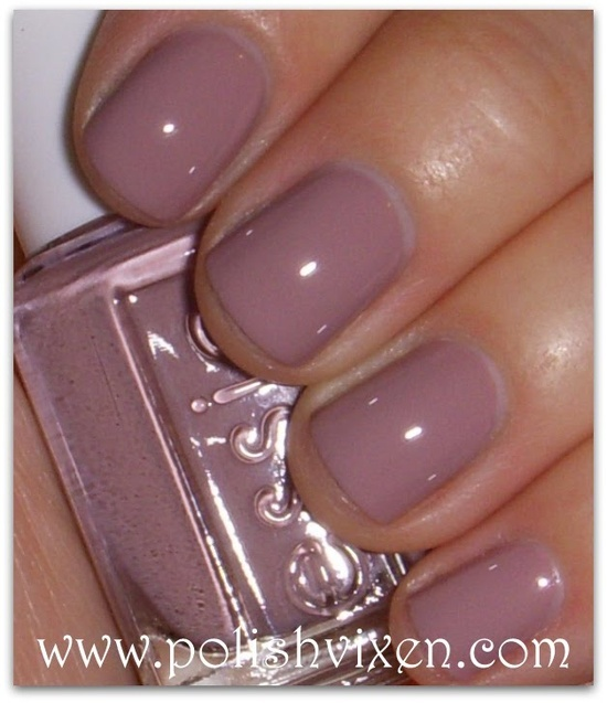 Essie LadyLike- just put this on my nails and love it