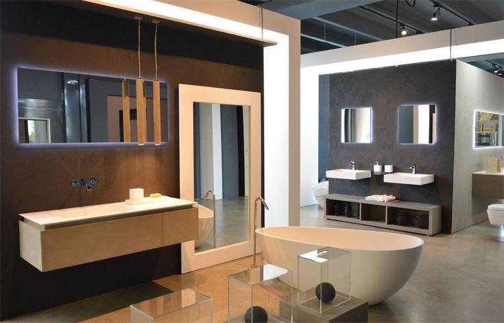 RiFRA bathroom in clay. www.rifra.com