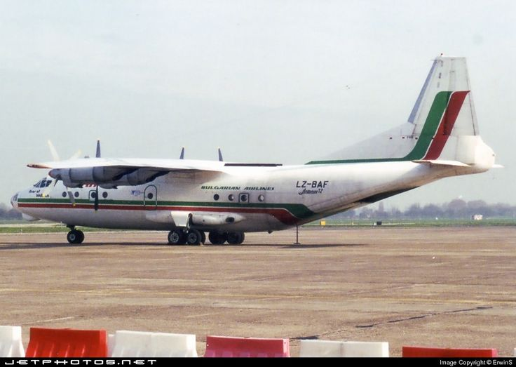Balkan Cargo Antonov An-12B LZ-BAF 402408 Rotterdam-The Hague Airport - EHRD