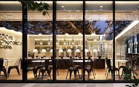 Afbeeldingsresultaat voor facade bar glass