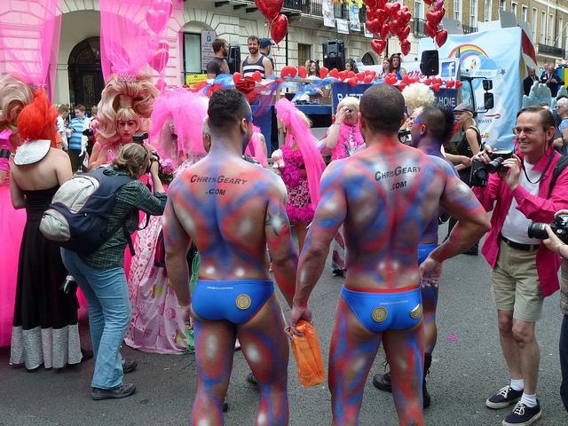Gay Pride London 2011- I was in Trafalgar Square during the march/parade