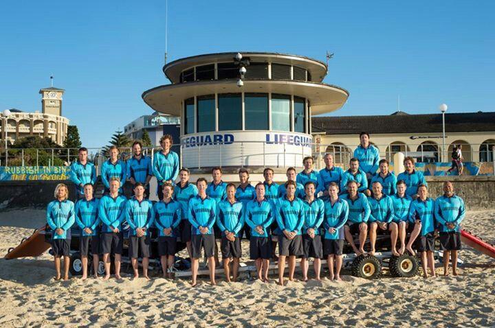 2012-2013 season lifeguard team. Pictures from bondi lifeguards facebook. ( bondi rescue )