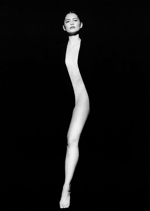 The mystery & illusion of a woman's body beautifully shown in this b/w photo by Tono Stano.